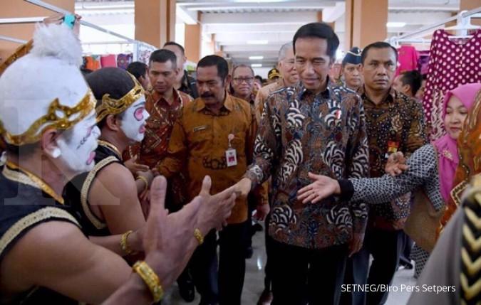 Jokowi pidato di Musrenbangnas dengan nada tinggi