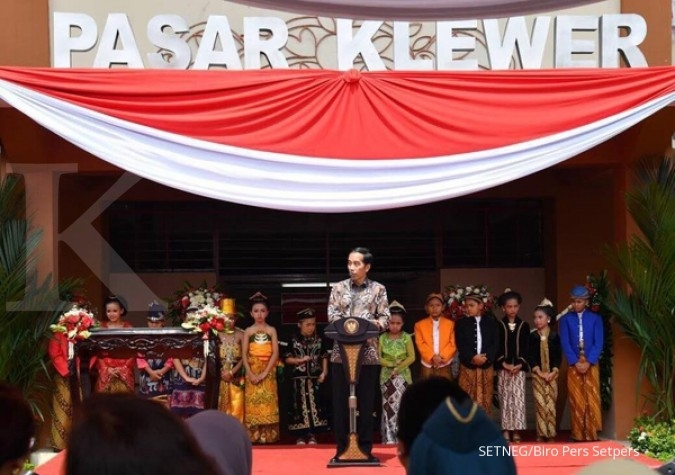 Buka pasar Klewer, Jokowi minta hilangkan copet