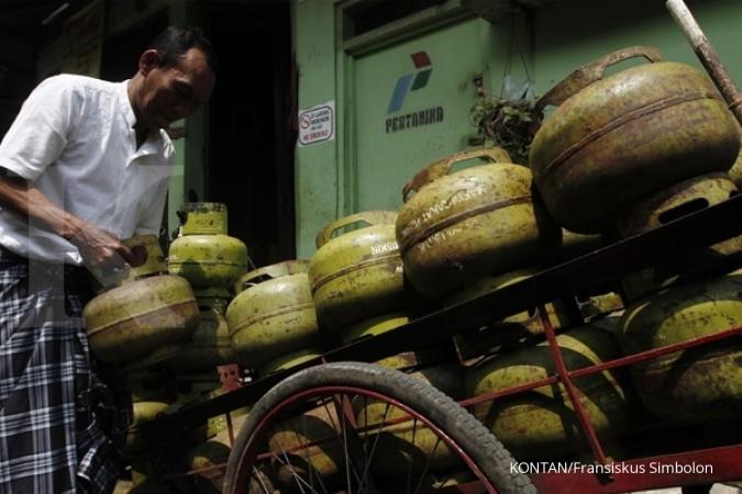 Pertamina bantah kelangkaaan LPG 3 kg di Bandung
