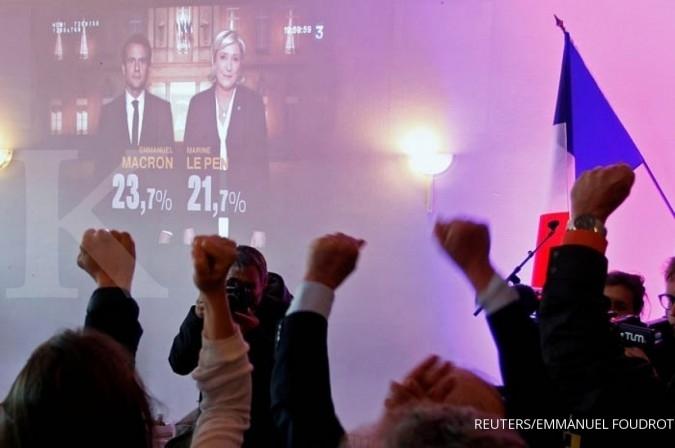 Calon Presiden Prancis butuh aliansi di putaran II