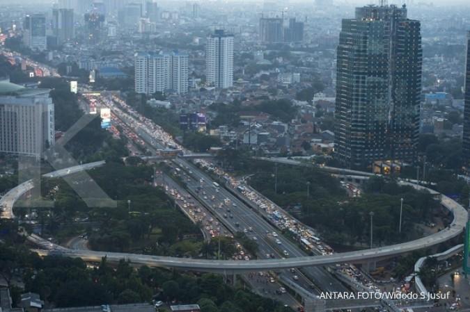 Tepat jam 00.00, Simpang Susun Semanggi tersambung