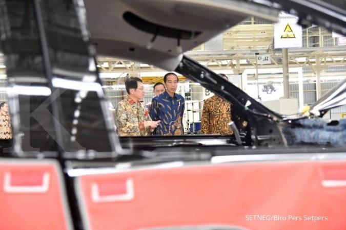 Pabrik Mitsubishi senilai Rp 7,5 T beroperasi