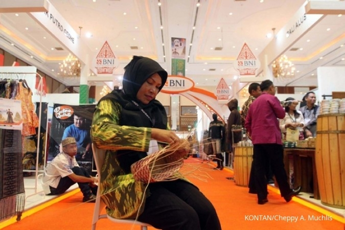 Jokowi opens Indonesian craft expo