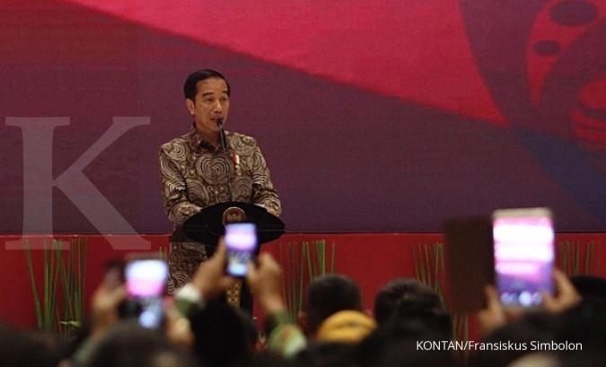 Jokowi: Kalau melawan konstitusi, gebuk saja!