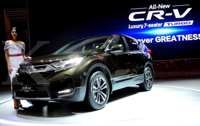 HPM mulai distribusikan All New Honda CR-V Turbo