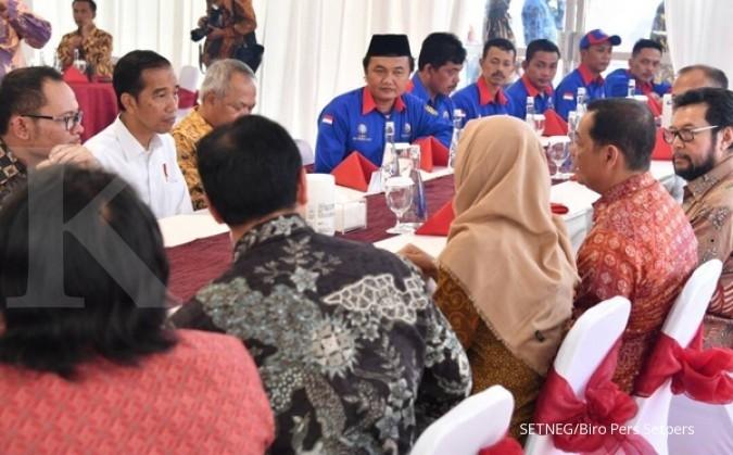Jokowi yakin buruh bisa beli rumah dengan DP 1%