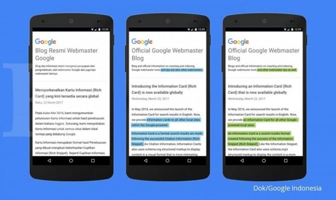 Teknologi anyar di Google Terjemahan