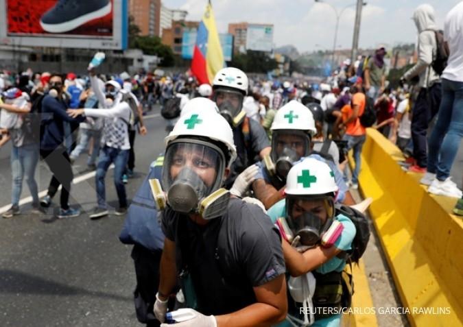 Korban jiwa kerusuhan Venezuela menjadi 42 orang