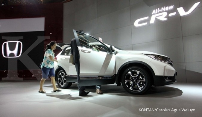 Model baru dukung penjualan mobil Honda di Agustus
