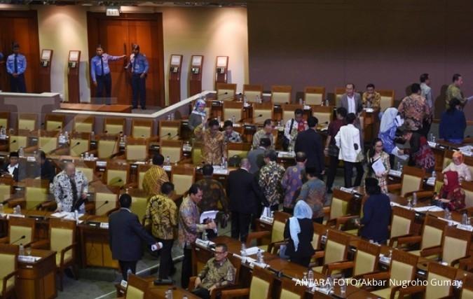 Gerindra walk out saat keputusan hak angket KPK