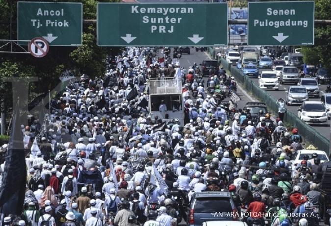 Polisi siagakan 15.000 personel kawal aksi GNPF
