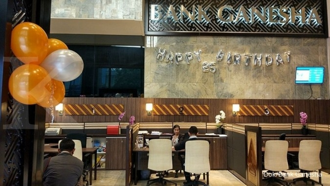 Laba bersih Q1 Bank Ganesha meroket 283%
