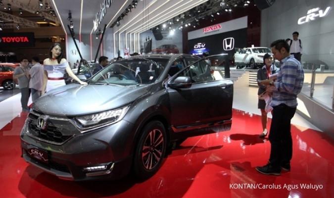 Lima bulan, penjualan mobil Honda turun 6,4%