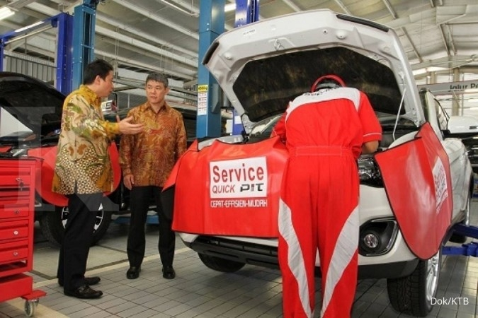 Mitsubishi resmikan bengkel anyar di Palembang