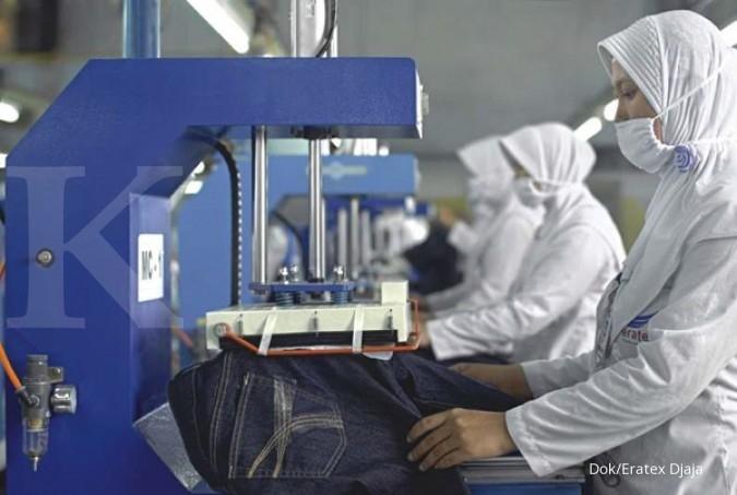 Produksi tekstil Indonesia masih stagnan