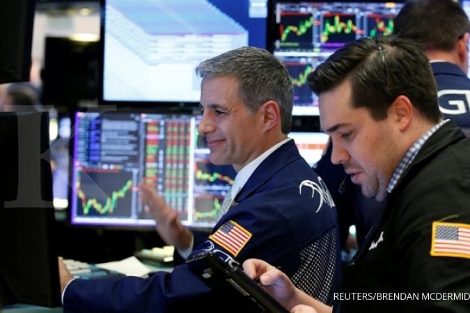 Bursa AS rebound setelah merosot tajam