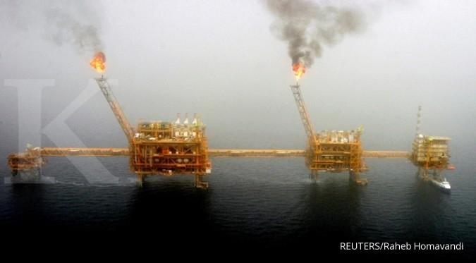 Harga minyak turun dari level tertinggi lima pekan