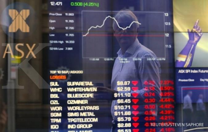 Bursa Asia sideways setelah ledakan di Inggris