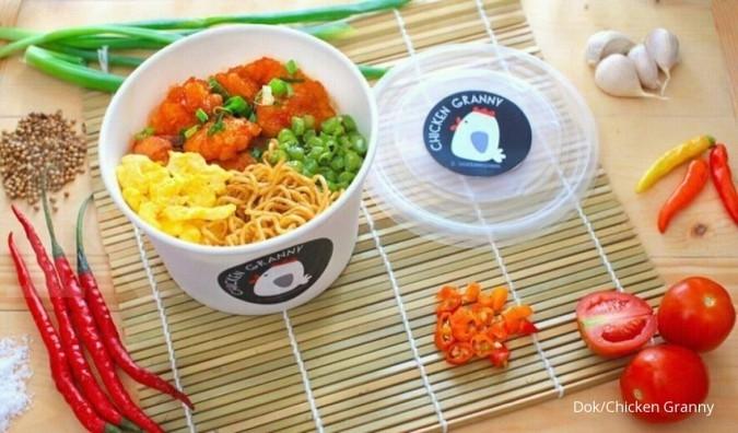 Mencicip gurih laba menu ricebowl