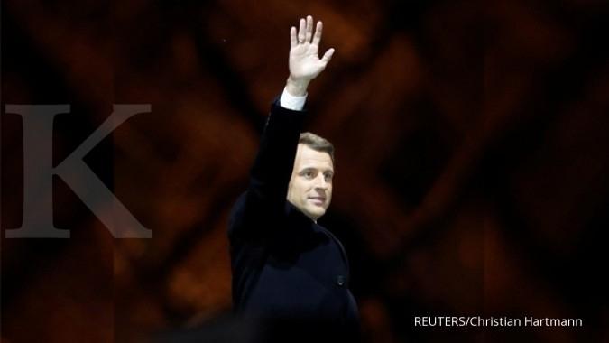 Indonesia senang atas kemenangan Macron