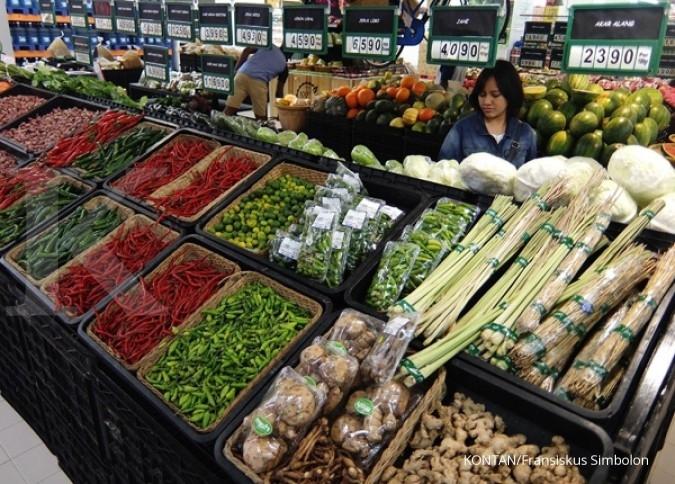 Inflasi berpeluang turun sampai akhir 2017