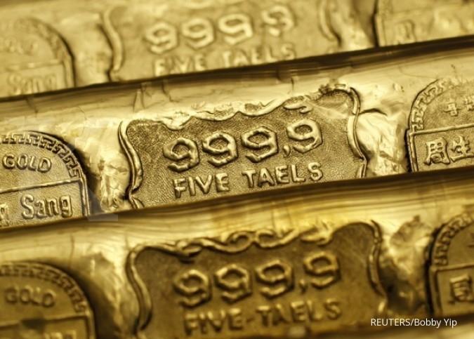 Emas bisa terus melambung tinggi