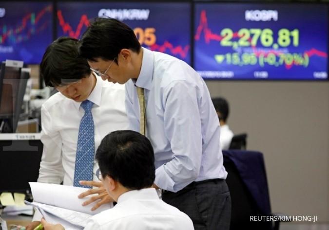 Antisipasi Fed, mayoritas bursa Asia naik