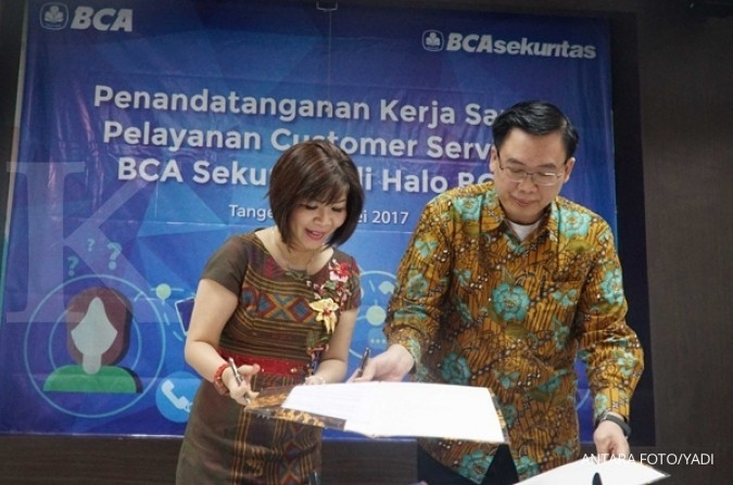 BCA resmi kantongi 90% saham BCA Sekuritas