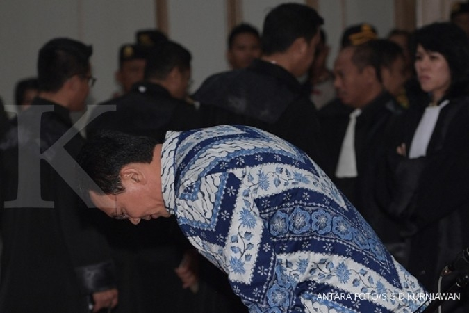 Jaksa sudah cabut banding vonis Ahok sejak 6 Juni