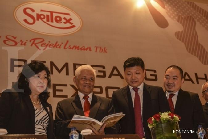 Sritex private placement Rp 658 miliar
