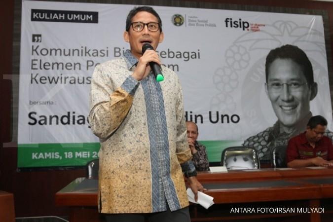 Sandiaga Uno penuhi panggilan KPK