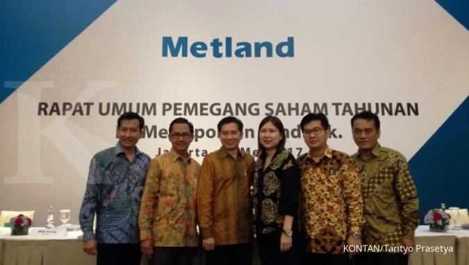 Metland bagikan dividen Rp 40,57 miliar