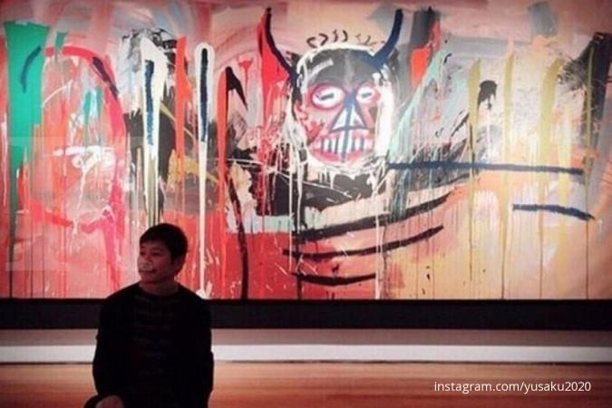 Lukisan Basquiat terjual ke Maezawa Rp 1,4 triliun