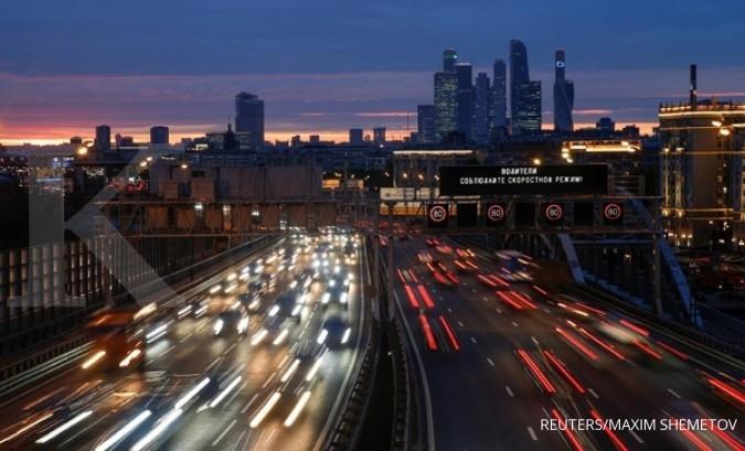 Badai ganas melanda Moskow, 11 tewas