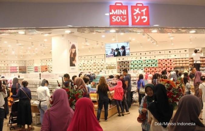 Miniso agresif menambah toko di Indonesia