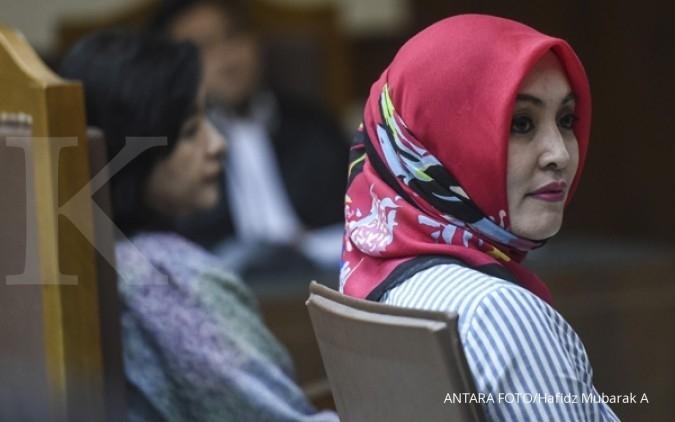 Lisa ungkap nama peneror dalam korupsi Hambalang