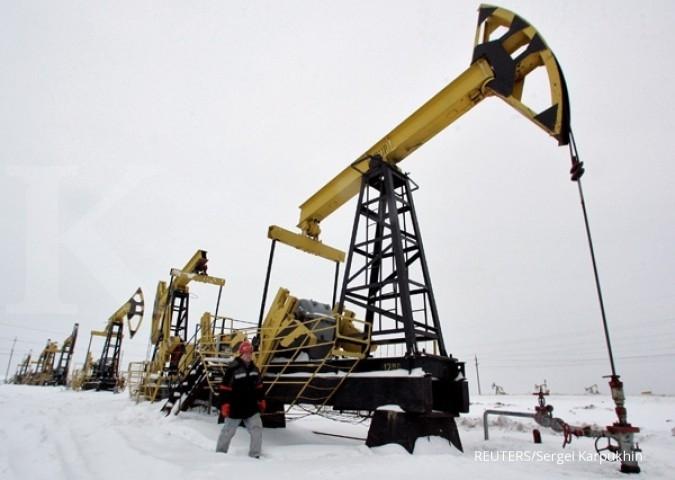 Harga minyak WTI rebound terbatas