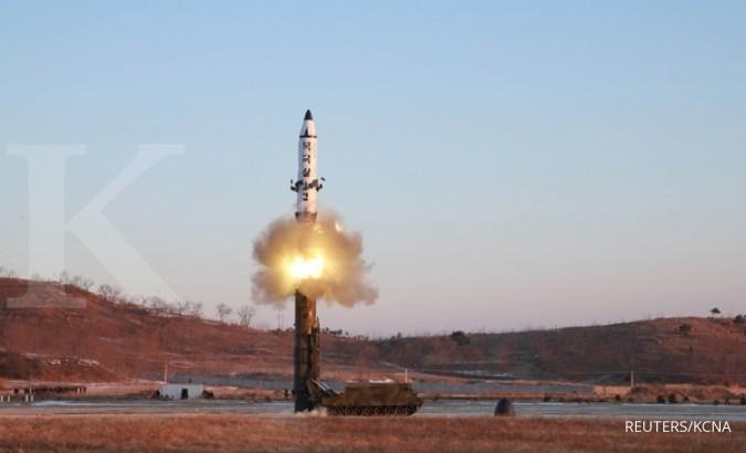 Lagi, Korut luncurkan rudal ke perairan Jepang