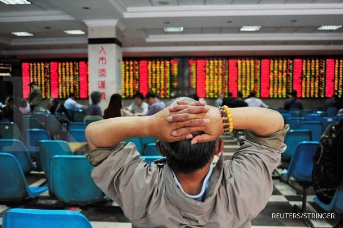 Hampir seluruh bursa Asia menguat