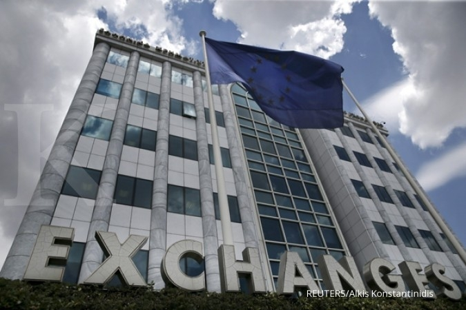 Bursa Eropa turun akibat rilis notulen ECB