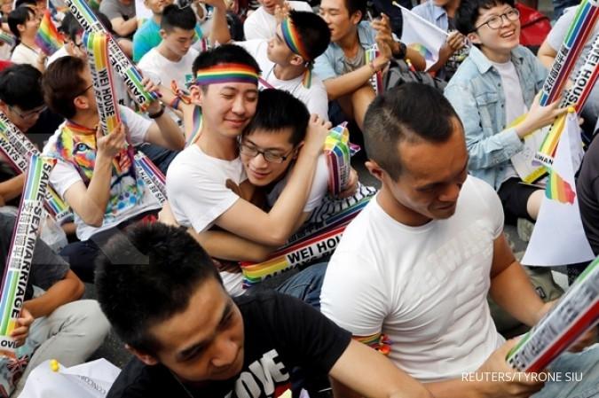 Ini negara Asia ke-1 legalkan pernikahan sejenis
