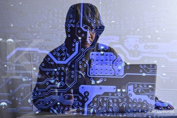 Hacker retas situs Pemkab Sukabumi