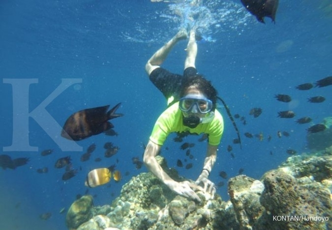 Menyelami keindahan taman laut Bunaken