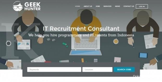 Membantu startup mencari programmer
