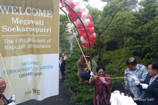 Kebun Raya Megawati diresmikan di Jeju, Korsel