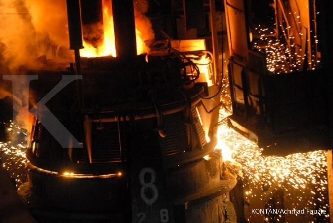 Produksi baja China susut, Krakatau Steel untung