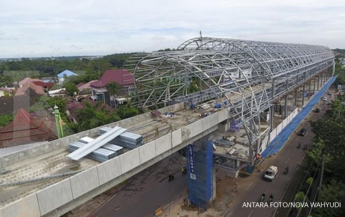 Tiket LRT Palembang gunakan subsidi perintis