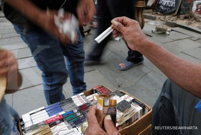 Pedagang Bogor resah pelarangan pemajangan rokok