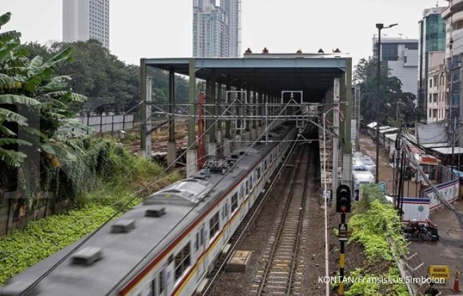 Tahap I pembangunan MRT hampir 75%