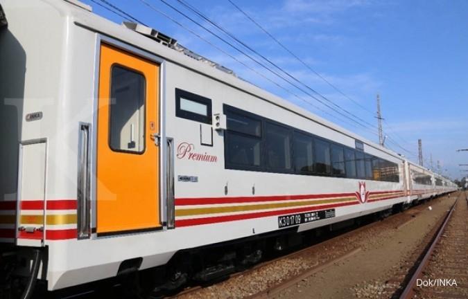 6 Rangkaian kereta ekonomi premium diuji coba